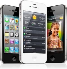 iPhone 4S. More than one smartphone.