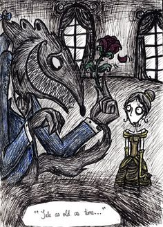 Beauty and the Beast by ~jack-the-pmpkn-queen on deviantART