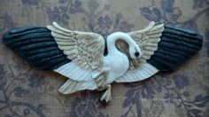 """CABOCHON Porcelain """"Cordelia"""" Snow Goose by Laura Mears on Etsy, Sold"""