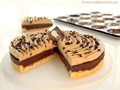 Tarte au chocolat, praliné noisettes - Meilleur du Chef Sweet Recipes, Cake Recipes, Chefs, Sweet Pie, Fat Foods, Chocolate Pies, Food Cakes, Food Humor, Just Desserts