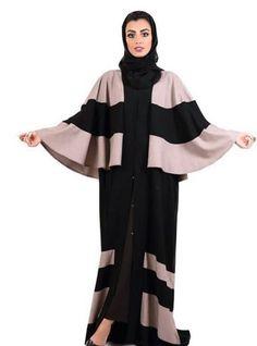 Latest Abaya Design #Abaya #Abaya 2017 Hijabi Gowns, Hijab Dress, Abaya Designs Latest, Burqa Designs, Mode Abaya, Abaya Dubai, Islamic Fashion, Abaya Fashion, Muslim Women