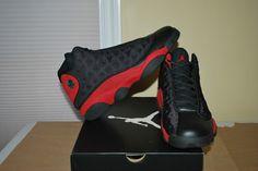 Nike Air Jordan XIII 13 Retro 2013 Black / Red BRED DS 414571-010 – Size 12