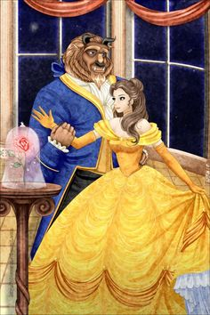 BEAUTY AND THE BEAST - The West Wing by Chris-Darril.deviantart.com on @DeviantArt