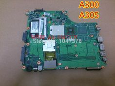 67.99$  Watch here - http://ali9nd.shopchina.info/1/go.php?t=1976401680 - Wholesale Laptop motherboard FOR TOSHIBA A300 A305 PN V000126040 6050A2172301-MB-A03 fully tested 45 days warranty  #magazineonlinewebsite
