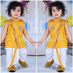 ideas wedding photos ideas with kids sons baby boy for 2019 Baby Boy Ethnic Wear, Kids Ethnic Wear, Baby Boy Dress, Baby Boy Outfits, Kids Outfits, Kids Dress Wear, Kids Gown, Baby Boy Fashion, Kids Fashion