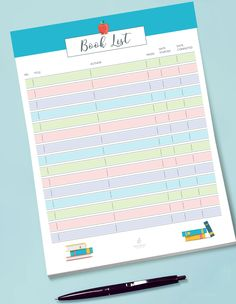 Free Printable Book Log Book Log, Free Stuff, Drawing S, Notebooks, Homeschooling, Free Printables, How To Memorize Things, Bullet Journal, Writing