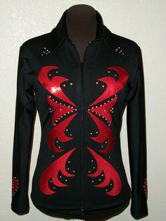 CUSTOM MADE Horse Show Shirt Jacket Western Halter Rail Showmanship Pleasure clothes. $105.00, via Etsy.