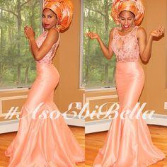 asoebibella aso ebi asoebi 2014 styles. Latest African Fashion, African Prints, African fashion styles, African clothing, Nigerian style, Ghanaian fashion, African women dresses, African Bags, African shoes, Nigerian fashion, Ankara, Aso okè, Kenté, brocade DK