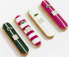 LACOSTE 80th Anniversary collaborate on Fauchon, Chocolate Eclairs!