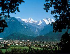Interlaken, Switzerland...went whitewater rafting here too...FREEZING!!!!