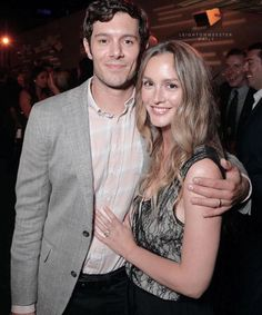 Leighton Meester Supports Hubby Adam Brody At 'StartUp' Premiere - Watch Trailer!: Photo Leighton Meester flashes a big smile alongside her hubby Adam Brody while attending the after party for his brand new show Startup held on Tuesday (August in… Movie Couples, Famous Couples, Couples In Love, Adorable Couples, Power Couples, Famous Men, Famous People, Leighton Meester Adam Brody, Leighton Marissa Meester