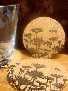 IC330 - Easy Upsy Daisy Coasters (4 coasters) by girlgeek101 - Cards and Paper Crafts at Splitcoaststampers