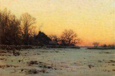 Winter Twilight - Charles Harold Davis