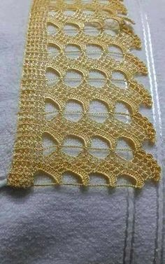 My Crochet Dream Filet Crochet, Beau Crochet, Crochet Lace Edging, Crochet Motifs, Crochet Mittens, Crochet Baby Hats, Thread Crochet, Knit Crochet, Crochet Dollies