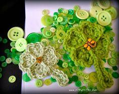 Free Lucky Shamrock Four 4 Leaf Clover St. Patrick's Day Crochet Motif Pattern by Niftynnifer Crochet Toys, Free Crochet, Crochet Ideas, Crochet Motif Patterns, Crochet Abbreviations, 4 Leaves, Leaf Clover, St Patricks Day, Free Pattern