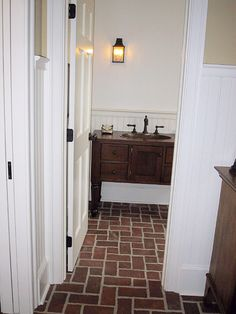 Bathrooms Inglenook Brick Tiles thin brick flooring brick