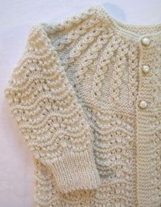 50 Knitting Crochet Baby Vest Patterns Free - Crochet Tricks and TipsHand-crochet clothing and accessories for your baby or children by using baby crochet patterns and baby vest patterns. Baby Knitting Patterns, Baby Sweater Patterns, Baby Cardigan Knitting Pattern, Knitted Baby Cardigan, Knit Baby Sweaters, Vest Pattern, Knitting For Kids, Crochet For Kids, Knitting Stitches