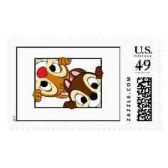 Shop Disney Chip 'n' Dale Postage created by OtherDisneyBrands. Gifts For Disney Lovers, Disney Gift, Walt Disney, Pop Stickers, Tumblr Stickers, Disney Tickets, Heart For Kids, Stamp Collecting, Postage Stamps