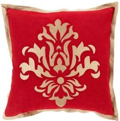 44% OFF Free Shipping Today: $70.00  Fleur design on throw pillows.  #decor #throwpillows #interior