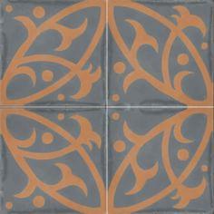 Moroccan Encaustic Cement Pattern Tiles 12c