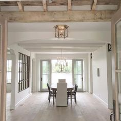 Gathering inspiration from this beauty -- the details, do you see the scalloped doorway? and the steel windows @katemarkerinteriors and @hammerkraft