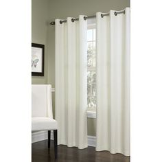 Thermalogic Prelude Insulated Grommet Curtain Single Panel