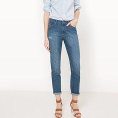 R Edition Womens Distressed Boyfriend Jeans Length 30 5 Jeans Boyfriend, Jean Boyfriend Destroy, Vaqueros Boyfriend, Jeans Fit, Mom Jeans, Flare, Skinny, My Wardrobe, Pants