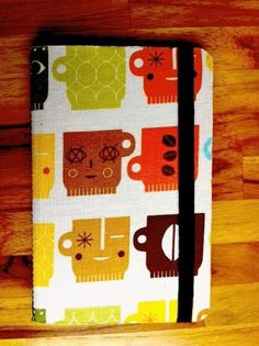 japanese fabric notebook
