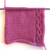 Afterthought Reversible Cable-ette Border