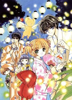 CLAMP, Cardcaptor Sakura, X, CLAMP in Wonderland, Monou Fuuma, Daidouji Tomoyo