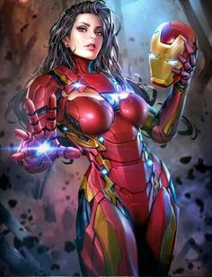 Marvel Comics: Iron Man (Female Version)