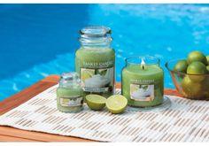 Yankee Candle, créée il y a 45 ans aux Etats-Unis, est La référence des bougies parfumées. Yankee Jarre L -Vanilla lime