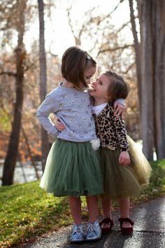 Sister love and tulle