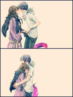 Yato and hiyori are goals Anime Noragami, Manga Anime, Yato And Hiyori, Anime Amor, Me Anime, Fanarts Anime, Kawaii Anime, Anime Characters, Noragami Characters