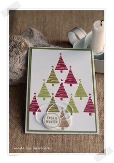 Bastelotti: 12 Weihnachtsbäume