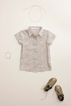 liberty print school blouse-p