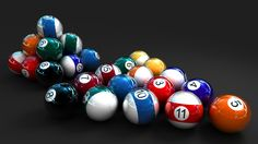 Snooker Balls 3D