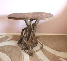 Driftwood Coffee Table Wooden Furniture Recycle Home Decor