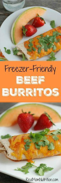 Friendly-Friendly Beef Burritos
