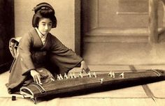 Vintage Photographs of Manryu. One of the most popular Geisha in Japan during the last years of the Meiji-era - Early Century Japanese Beauty, Japanese Art, Japanese Kimono, Old Pictures, Old Photos, Kyoto, Era Meiji, Meiji Restoration, Memoirs Of A Geisha
