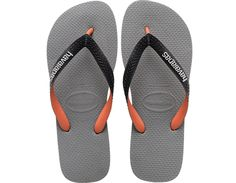 <p>The Top Mix features a multicolored matte strap with a contrastHavaianas logo and our signature textured footbed for great style andcomfort.</p><ul><li>Thong style</li><li>Cushioned footbed with textured rice pattern and rubber flip flopsole</li><li>Made in Brazil</li></ul>