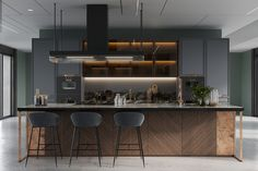 Modern Kitchen Design 51 Luxury Kitchens And Tips To Help You Design And Accessorize Yours - Be inspired by this gallery of amazing luxury kitchen designs, filled with beautiful kitchen cabinets, kitchen layouts, designer faucets and modern appliances. Luxury Kitchen Design, Best Kitchen Designs, Luxury Kitchens, Interior Design Kitchen, Cool Kitchens, Kitchen Decor, Kitchen Ideas, Dark Kitchens, Kitchen Nook