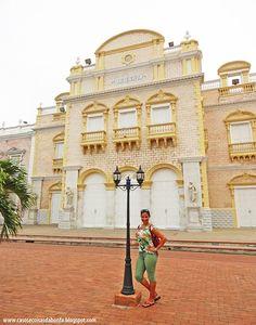 As muralhas da encantadora cidade de Cartagena de Indias ou, simplesmente, Cartagena     Igreja de São Pedro Claver     Escultura em ferro...
