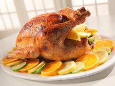 Triple-Citrus Buttered Turkey #Thanksgiving #ThanksgivingFeast