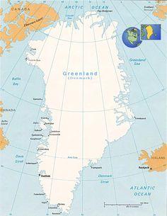greenland map | Greenland map