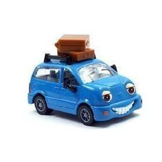 Chevron Cars Maria Minivan with Luggage & Paper Dolls