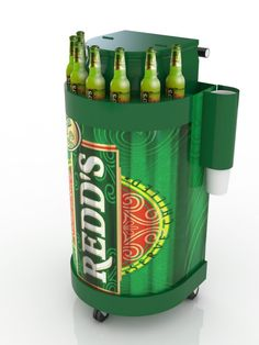 Redds POP Drinks Trolley, Nescafe, Bus Stop, Pos, Display, Marketing, Design, Coffee Carts, Point Of Sale