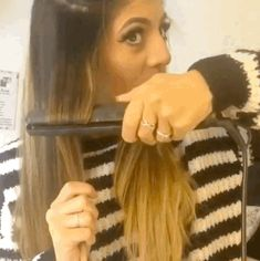 There's really no need to buy a hair curler when you can get great results with a straightening iron.