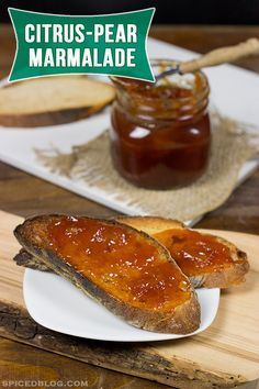 This Citrus Pear Marmalade is a great addition to everything from ...