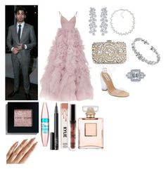 Event with Zayn 💜 by officialarianagrandebutera on Polyvore featuring polyvore fashion style Monique Lhuillier Steve Madden MANGO Cartier Carolee Harry Winston Bobbi Brown Cosmetics Maybelline NARS Cosmetics Chanel clothing
